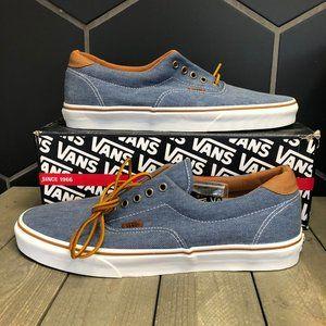 New W/ Box! Vans Era 59 Washed Twill Blue Low